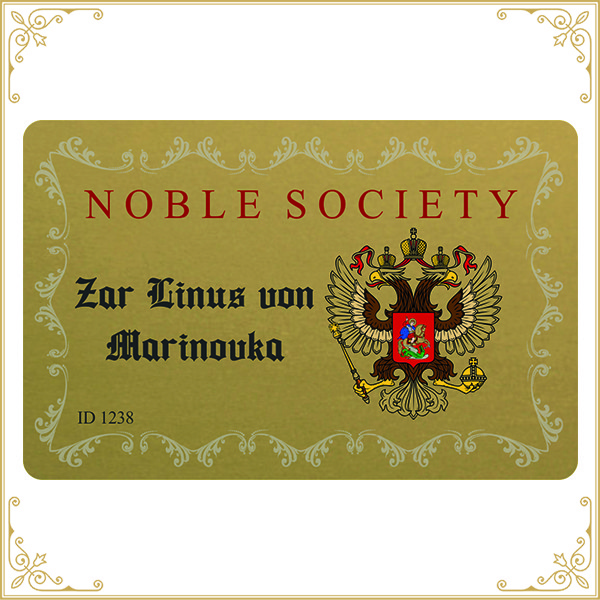 Nobility ID Card